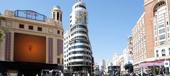 Centro di Madrid